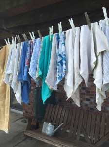 Hanging to dry on this beautiful day!